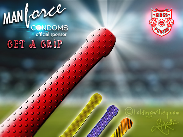 Kings Xi Punjab Manforce Sponsorship